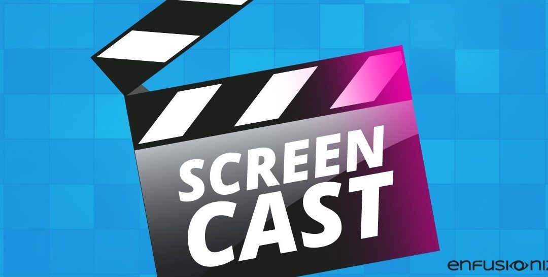 Screencasts: Usage and Tools